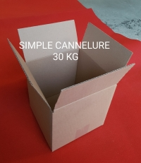 SIMPLE CANNELURE  - Caisse  americaine - Caisse  simple canelure - Simple cannelure definition
